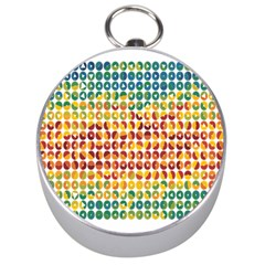 Weather Blue Orange Green Yellow Circle Triangle Silver Compasses