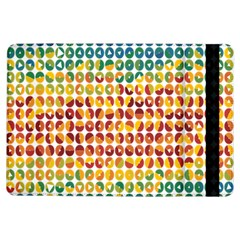 Weather Blue Orange Green Yellow Circle Triangle Ipad Air Flip by Alisyart