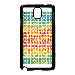Weather Blue Orange Green Yellow Circle Triangle Samsung Galaxy Note 3 Neo Hardshell Case (Black)