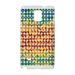 Weather Blue Orange Green Yellow Circle Triangle Samsung Galaxy Note 4 Hardshell Case