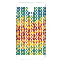 Weather Blue Orange Green Yellow Circle Triangle Galaxy Note 4 Back Case