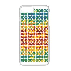 Weather Blue Orange Green Yellow Circle Triangle Apple iPhone 7 Plus White Seamless Case