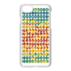 Weather Blue Orange Green Yellow Circle Triangle Apple Iphone 7 Seamless Case (white) by Alisyart