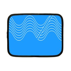 Waves Blue Sea Water Netbook Case (small)  by Alisyart