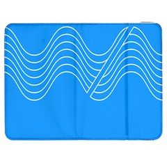 Waves Blue Sea Water Samsung Galaxy Tab 7  P1000 Flip Case
