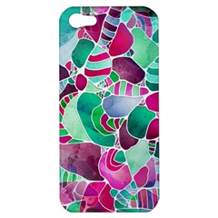 Frosted Sea Glass Apple Iphone 5 Hardshell Case