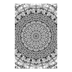 Mandala Boho Inspired Hippy Hippie Design Shower Curtain 48  X 72  (small)  by CraftyLittleNodes