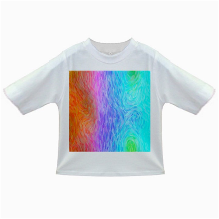 Abstract Color Pattern Textures Colouring Infant/Toddler T-Shirts