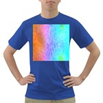 Abstract Color Pattern Textures Colouring Dark T-Shirt Front