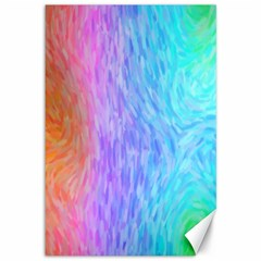 Abstract Color Pattern Textures Colouring Canvas 12  X 18