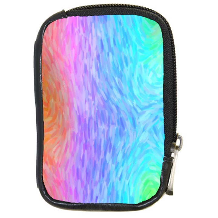 Abstract Color Pattern Textures Colouring Compact Camera Cases