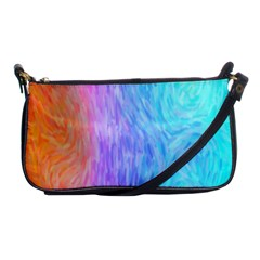 Abstract Color Pattern Textures Colouring Shoulder Clutch Bags