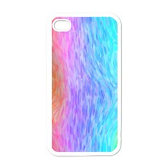 Abstract Color Pattern Textures Colouring Apple Iphone 4 Case (white)