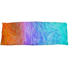 Abstract Color Pattern Textures Colouring Body Pillow Case Dakimakura (two Sides) by Simbadda