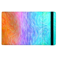 Abstract Color Pattern Textures Colouring Apple Ipad 3/4 Flip Case by Simbadda