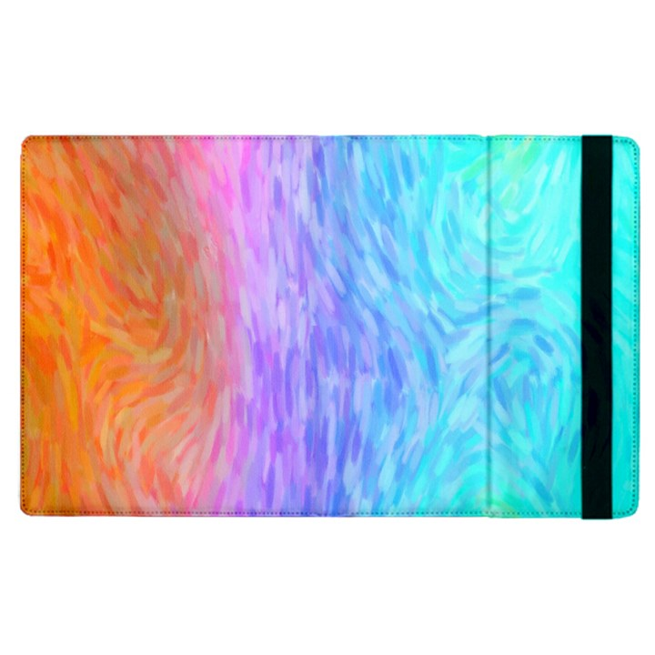 Abstract Color Pattern Textures Colouring Apple iPad 3/4 Flip Case