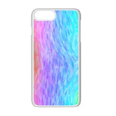 Abstract Color Pattern Textures Colouring Apple Iphone 7 Plus White Seamless Case
