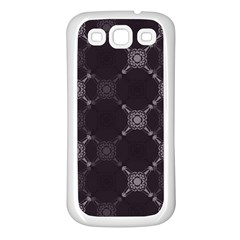 Abstract Seamless Pattern Samsung Galaxy S3 Back Case (white)
