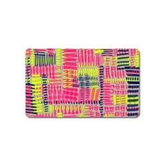 Abstract Pattern Magnet (name Card)