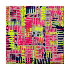 Abstract Pattern Face Towel