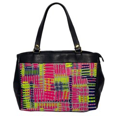Abstract Pattern Office Handbags by Simbadda