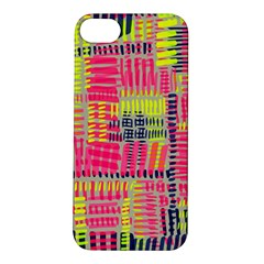 Abstract Pattern Apple Iphone 5s/ Se Hardshell Case by Simbadda