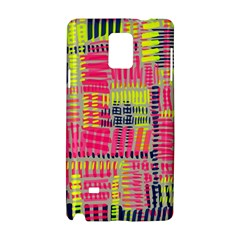 Abstract Pattern Samsung Galaxy Note 4 Hardshell Case