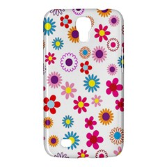 Colorful Floral Flowers Pattern Samsung Galaxy Mega 6 3  I9200 Hardshell Case by Simbadda