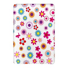 Colorful Floral Flowers Pattern Samsung Galaxy Tab Pro 12 2 Hardshell Case by Simbadda