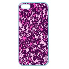 Chic Camouflage Colorful Background Apple Seamless Iphone 5 Case (color) by Simbadda