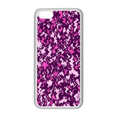 Chic Camouflage Colorful Background Apple Iphone 5c Seamless Case (white) by Simbadda