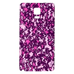 Chic Camouflage Colorful Background Galaxy Note 4 Back Case by Simbadda