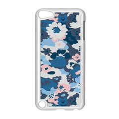 Fabric Wildflower Bluebird Apple Ipod Touch 5 Case (white) by Simbadda