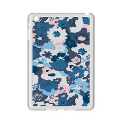 Fabric Wildflower Bluebird Ipad Mini 2 Enamel Coated Cases by Simbadda