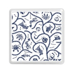 Fish Pattern Memory Card Reader (square)