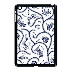Fish Pattern Apple Ipad Mini Case (black) by Simbadda