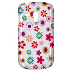 Colorful Floral Flowers Pattern Galaxy S3 Mini by Simbadda