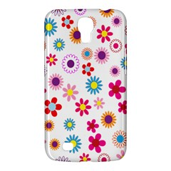 Colorful Floral Flowers Pattern Samsung Galaxy Mega 6 3  I9200 Hardshell Case