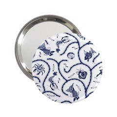 Fish Pattern 2 25  Handbag Mirrors