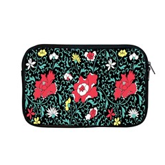 Vintage Floral Wallpaper Background Apple Macbook Pro 13  Zipper Case