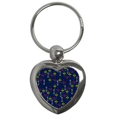 Vintage Unique Pattern Key Chains (heart)