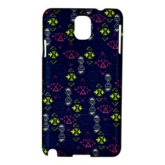 Vintage Unique Pattern Samsung Galaxy Note 3 N9005 Hardshell Case