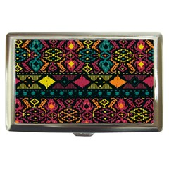Traditional Art Ethnic Pattern Cigarette Money Cases by Simbadda