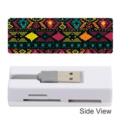 Traditional Art Ethnic Pattern Memory Card Reader (stick)  by Simbadda