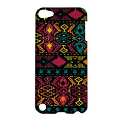 Traditional Art Ethnic Pattern Apple Ipod Touch 5 Hardshell Case by Simbadda