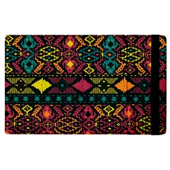 Traditional Art Ethnic Pattern Apple Ipad 3/4 Flip Case by Simbadda