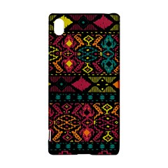 Traditional Art Ethnic Pattern Sony Xperia Z3+ by Simbadda