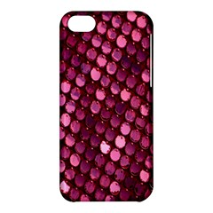 Red Circular Pattern Background Apple Iphone 5c Hardshell Case