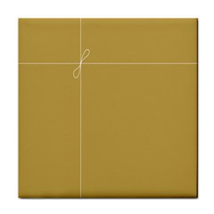 Brown Paper Packages Tile Coasters