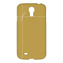 Brown Paper Packages Samsung Galaxy S4 I9500/i9505 Hardshell Case
